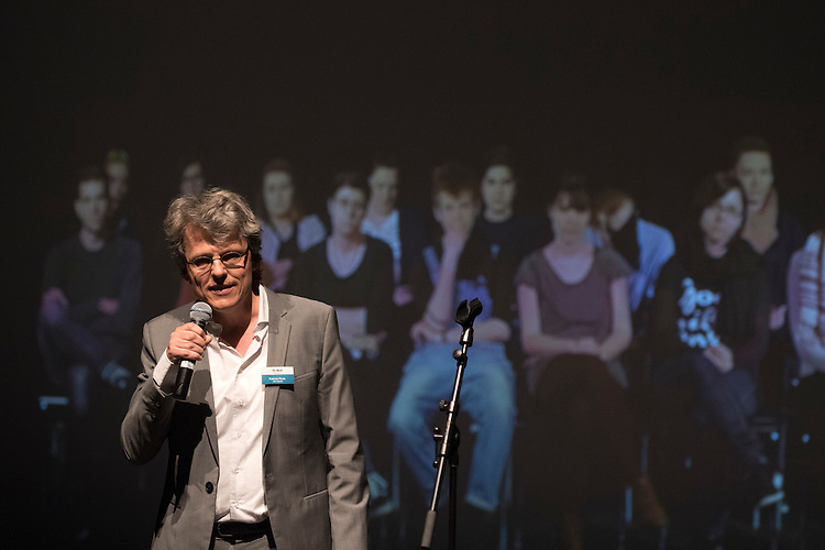 Verleihung Essaypreis 2016. Patrick Feuz. © Adrian Moser