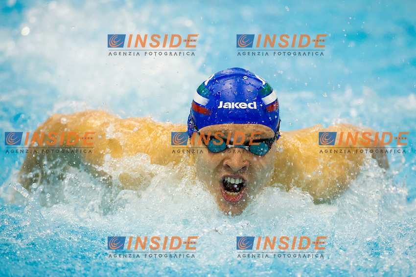 Szczecin, Poland, 9 december 2011.European Short Course Swimming Champioships 2011.400m Medley Men.Alessandro Cuoghi (ITA)...Photo: Insidefoto / Guido Cantini