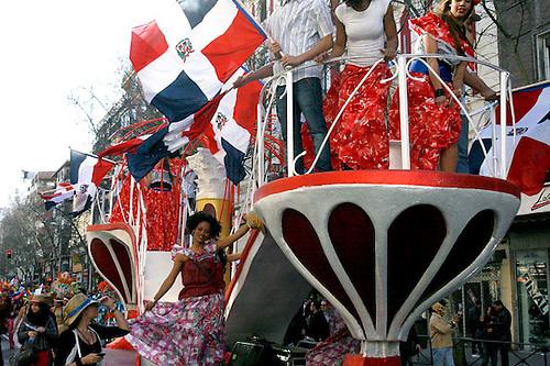 Dominicanos en España.