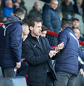2nd December 2017, Global Energy Stadium, Dingwall, Scotland; Scottish Premiership football, Ross County versus Dundee; Dundee manager Neil McCann