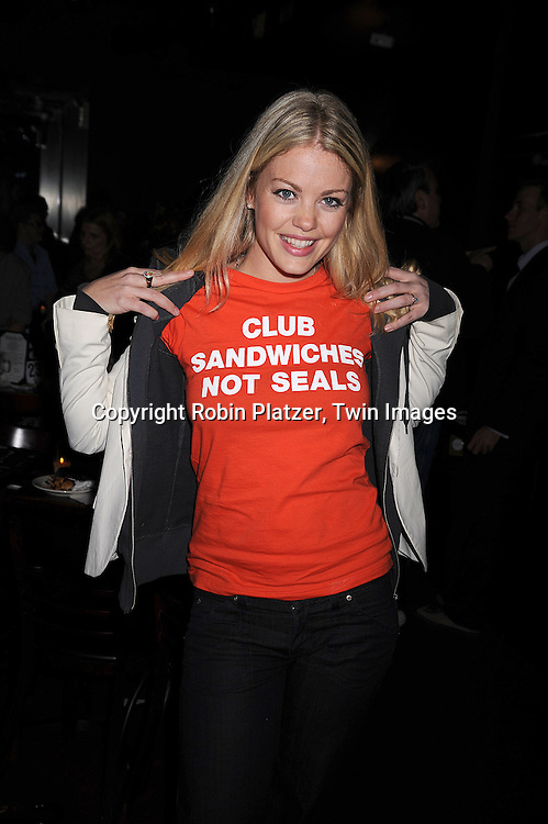 "One Life to Live actress  Bree Williamson ..at The ""Kathy Brier and Friends"" concert at The Metropolitan Room in New York City benefitting the Eos ..Theatre Company on May 16, 2008.....Robin Platzer, Twin Images"