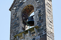 2018 06 28 No more bell chiming for St Mary's Church, Fishguard, Wales, UK