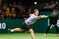 Rotterdam, The Netherlands, 14 Februari 2019, ABNAMRO World Tennis Tournament, Ahoy, quarter final, Stan Wawrinka (SUI),<br /> Photo: www.tennisimages.com/Henk Koster