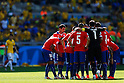 Chile team group (CHI),<br /> JUNE 28, 2014 - Football / Soccer :<br /> Chile team group huddle during the FIFA World Cup Brazil 2014 Round of 16 match between Brazil 1(3-2)1 Chile at Estadio Mineirao in Belo Horizonte, Brazil. (Photo by D.Nakashima/AFLO)