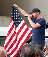 Cole Swindell Performs at Citi Concert Series