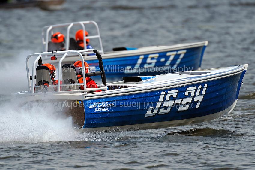 "JS-24 ""Bazinga"" and JS-77 ""Lap Dancer"" (Jersey Speed Skiff(s)"
