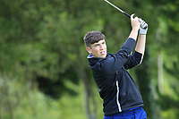 Final Farrell (Carrick-on-Shannon) on the 1st tee during the Connacht U12, U14, U16, U18 Close Finals 2019 in Mountbellew Golf Club, Mountbellew, Co. Galway on Monday 12th August 2019.<br /> <br /> Picture:  Thos Caffrey / www.golffile.ie<br /> <br /> All photos usage must carry mandatory copyright credit (© Golffile | Thos Caffrey)