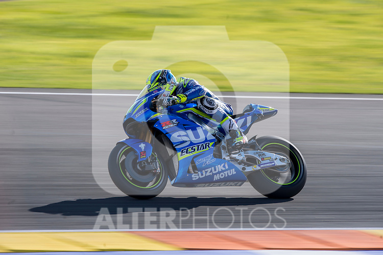 VALENCIA, SPAIN - NOVEMBER 11: Aleix Espargaro during Valencia MotoGP 2016 at Ricardo Tormo Circuit on November 11, 2016 in Valencia, Spain