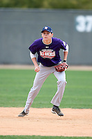 January 17, 2010:  George Gugino (Hollywood, FL) of the Baseball Factory South Team during the 2010 Under Armour Pre-Season All-America Tournament at Kino Sports Complex in Tucson, AZ.  Photo By Mike Janes/Four Seam Images