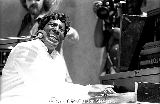 Charles Brown, August 7, 1976, San Francisco Blues Festival, McLaren Park