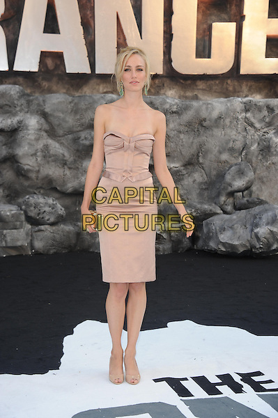 Ruta Gedmintas<br /> 'The Lone Ranger&quot; UK film premiere, Odeon cinema, Leicester Square, London, England.<br /> 21st July 2013<br /> full length beige strapless dress  <br /> CAP/DS<br /> &copy;Dudley Smith/Capital Pictures