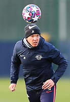 9th March 2020, Red Bull Arena, Leipzig, Germany; RB Leipzig press confefence and training ahead of their Champions League match versus Tottenham Hotspur on 10th March 2020; Trainer Julian Nagelsmann RB Leipzig