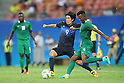 Shinya Yajima (JPN), <br /> AUGUST 4, 2016 - Football / Soccer : <br /> Men's First Round Group B <br /> between Nigeria 5-4 Japan <br /> at Amazonia Arena <br /> during the Rio 2016 Olympic Games in Manaus, Brazil. <br /> (Photo by YUTAKA/AFLO SPORT)