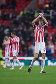 30th September, bet365 Stadium, Stoke-on-Trent, England; EPL Premier League football, Stoke City versus Southampton; Stoke City's Peter Crouch claps the fans after scoring the winning goal