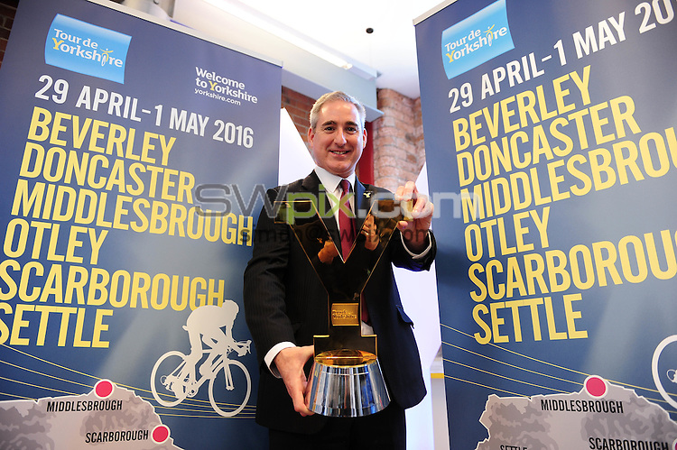 Picture by Simon Wilknson/SWpix.com 09/10/2015 - Cycling Tour de Yorkshire - 2016 host town city locations -<br />