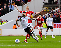 during the Sky Bet Championship match between Nottingham Forest and Derby County at the City Ground, Nottingham, England on 10 March 2018. Photo by Stephen Buckley / PRiME Media Images.