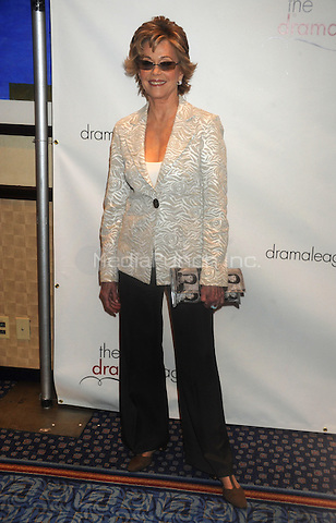 Jane Fonda attends the 75th Annual Drama League Awards at the Marriot Marquis in New York City. May 15, 2009 Credit: Dennis Van Tine/MediaPunch