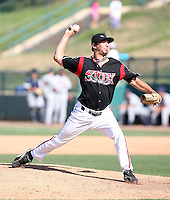 Nick Vincent  -  Lake Elsinore Storm playing against the Lancaster JetHawks at the Diamond, Lake Elsinore, CA - 05/16/2010.Photo by:  Bill Mitchell/Four Seam Images