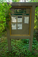 Information Kiosk, Upper Queets Valley, Olympic National Park, Washington, US