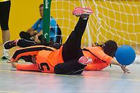 SÃO PAULO,SP, 22.03.2017 - BRASIL-MEXICO - Partida de Goalball Femino entre Brasil e Mexico no CT Paralímpico Brasileiro, no Parapan da Juventude em São Paulo nesta quarta-feira, 22. (Foto: Danilo Fernandes/Brazil Photo Press)