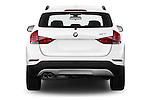 Straight rear view of a 2013 BMW X1 sDrive28i