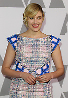 05 February 2018 - Los Angeles, California - Greta Gerwig. 90th Annual Oscars Nominees Luncheon held at the Beverly Hilton Hotel in Beverly Hills. <br /> CAP/ADM<br /> &copy;ADM/Capital Pictures