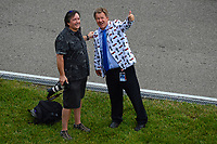 Verizon IndyCar Series<br /> Indianapolis 500 Race<br /> Indianapolis Motor Speedway, Indianapolis, IN USA<br /> Sunday 28 May 2017<br /> Steve Shunk and friend during pre-race.<br /> World Copyright: F. Peirce Williams<br /> LAT Images