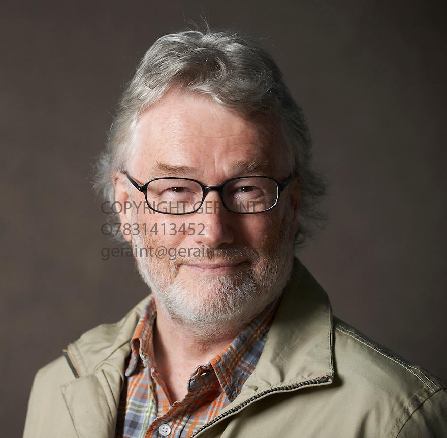 Iain Banks Scottish Writer at The Edinburgh International Book Festival   . Credit Geraint Lewis
