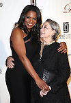 Audra McDonald & Zoe Caldwell attending the Drama League's 29th Annual Musical Celebration of Broadway Honoring Audra McDonald at the Pierre Hotel in New York City on 2/11/2013