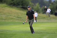 Thomas Pieters (BEL) on the 5th fairway during Round 3 of the D+D Real Czech Masters at the Albatross Golf Resort, Prague, Czech Rep. 02/09/2017<br /> Picture: Golffile | Thos Caffrey<br /> <br /> <br /> All photo usage must carry mandatory copyright credit     (&copy; Golffile | Thos Caffrey)