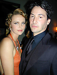 Charlize Theron &amp; Keanu Reeves<br />