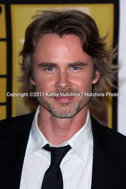 LOS ANGELES - JUN 20:  Sam Trammell arriving at the 1st Annual Critics' Choice Television Awards at Beverly Hills Hotel on June 20, 2004 in Beverly Hills, CA