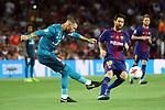 Supercopa de Espa&ntilde;a - Ida.<br /> FC Barcelona vs R. Madrid: 1-3.<br /> Sergio Ramos vs Lionel Messi.