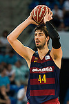 FC Barcelona Lassa player Ante Tomic during the final of Supercopa of Liga Endesa Madrid. September 24, Spain. 2016. (ALTERPHOTOS/BorjaB.Hojas)