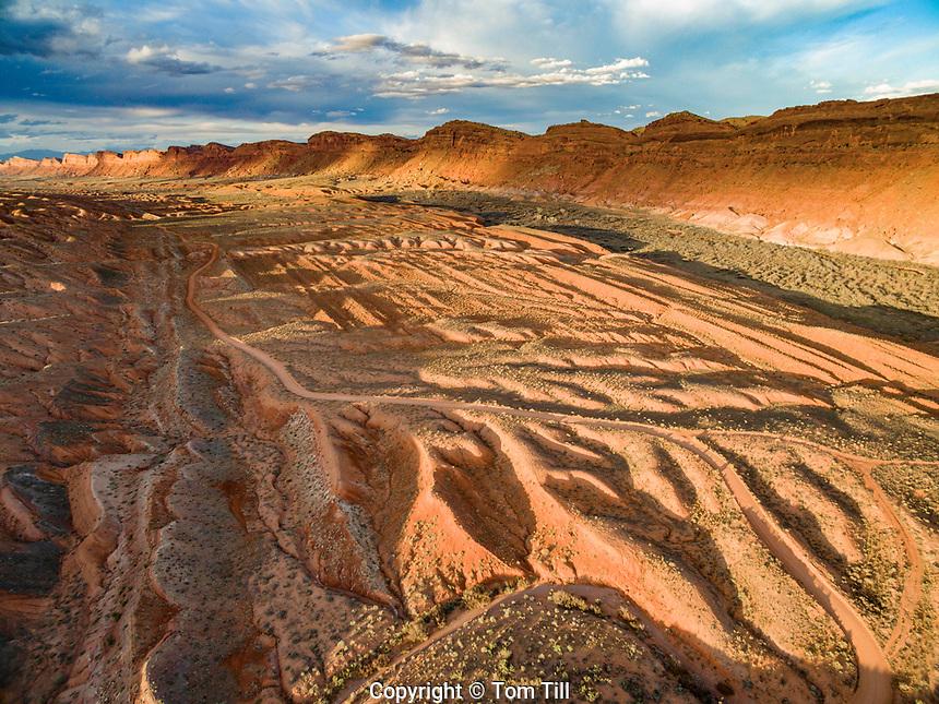 Comb Ridge  and Comb Wash,  Proposed Bears Ears National Monument, Utah  Near San Juan River and Bluff, Utah