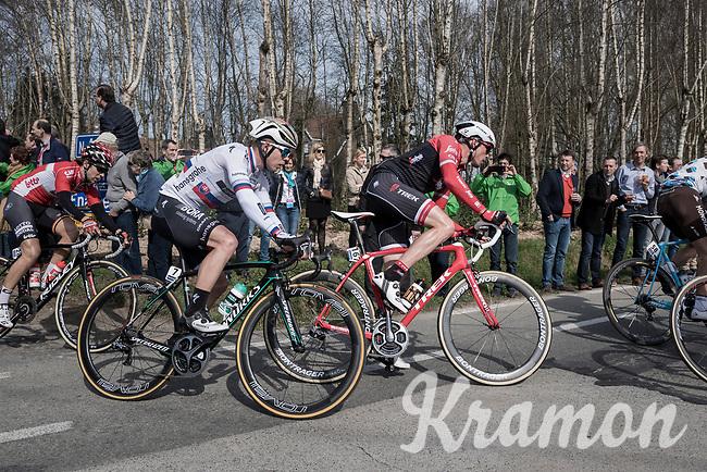 Gregory Rast (SUI/Trek-Segafredo)<br /> <br /> 60th E3 Harelbeke (1.UWT)<br /> 1day race: Harelbeke &rsaquo; Harelbeke - BEL (206km)