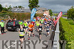 At the Start of the Run the Kingdom Camp 10 mile summer trail in aid of the The Irish Heart Foundation on Saturday