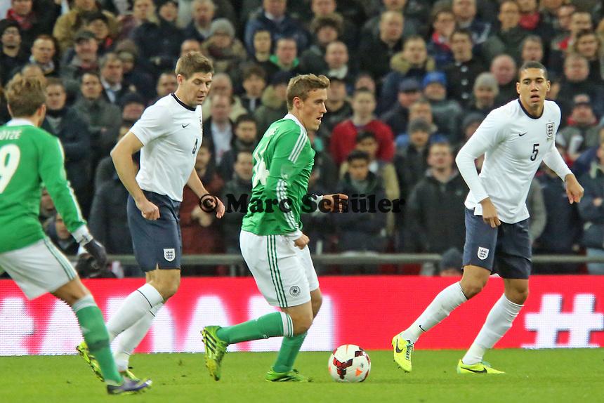 Max Kruse(D) - England vs. Deutschland im Wembley Stadium