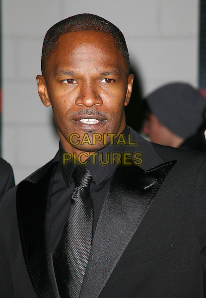 JAMIE FOXX .The Robert F. Kennedy Center for Justice & Human Rights Ripple of Hope awards dinner at Chelsea Piers, New York City, NY, USA, .17th November 2010..portrait headshot black tie grey gray shirt suit .CAP/ADM/PZ.©Paul Zimmerman/AdMedia/Capital Pictures.