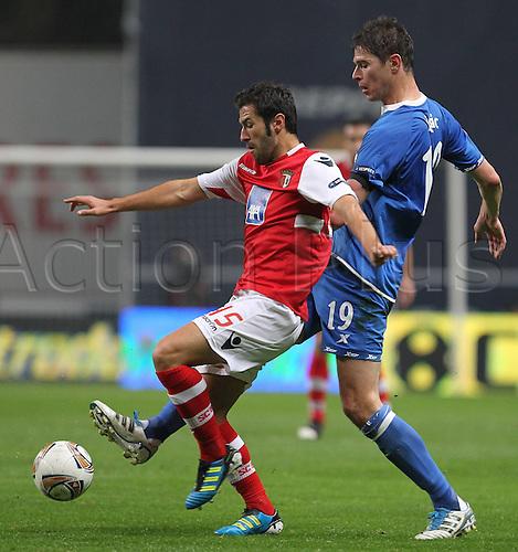 30 11 2011  Braga vs Birmingham City FC UEFA Europe League Group H Round 5 in Photo Hugo Viana and Zigic