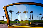 Palm trees line the Sun City Sun Bowl, an amphitheater in the city of more than 40,000 retirees. 2010 marks Sun City's 50th anniversary.