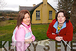 HISTORY  MAKERS:Rita O'Sullivan and  Mary McGarvey  pictured at  the old Cashlaugh National School in Dromid as they prepare for the Dromid Heritage Society Easter Week celebrations.