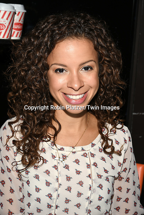 Lexi Lawson of &quot;Hamilton&quot; attends the Broadway Cares/Equity Fights Aids Flea Market and Grand Auction on September 25, 2016 at the Music Box Theatre and in Shubert Ally in New York, New York, USA. <br /> <br /> photo by Robin Platzer/Twin Images<br />  <br /> phone number 212-935-0770