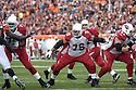 DEUCE LUTUI, of the Arizona Cardinals, in action during their game against the Cincinnati Bengals on November 18, 2007 in Cincinnati, Ohio...Cardinals win 35-27..SportPics