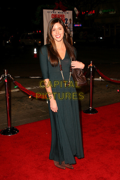 "KAYLA EWELL.""Cheaper By The Dozen 2"" World Premiere - Arrivals .held at the Mann Village Theatre, Westwood, California..December 13th, 2005.Photo: Zach Lipp/AdMedia/Capital Pictures.Ref: ZL/ADM.full length blue dress necklace .www.capitalpictures.com.sales@capitalpictures.com.© Capital Pictures."