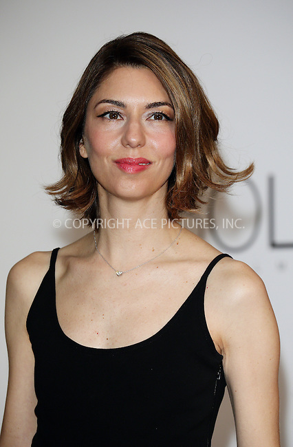 ACEPIXS.COM<br /> <br /> May 21 2014, Cannes<br /> <br /> Sofia Coppola arriving at amfAR's 21st Cinema Against AIDS Gala during the 67th Cannes International Film Festival at Hotel du Cap-Eden-Roc on May 21 2014 in Cap d'Antibes, France<br /> <br /> By Line: Famous/ACE Pictures<br /> <br /> ACE Pictures, Inc.<br /> www.acepixs.com<br /> Email: info@acepixs.com<br /> Tel: 646 769 0430