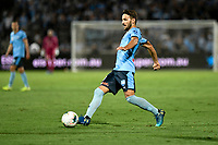 28th February 2020; Netstrata Jubilee Stadium, Sydney, New South Wales, Australia; A League Football, Sydney FC versus Western Sydney Wanderers; Milos Ninkovic of Sydney passes the ball