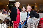 Pictured at the Pioneers Total Abstinence Association 95th Anniversary celebrations in the Ring of Kerry Hotel Cahersiveen on Saturday were l-r; Eileen Murphy, Mia Flaherty & Tom Murphy.