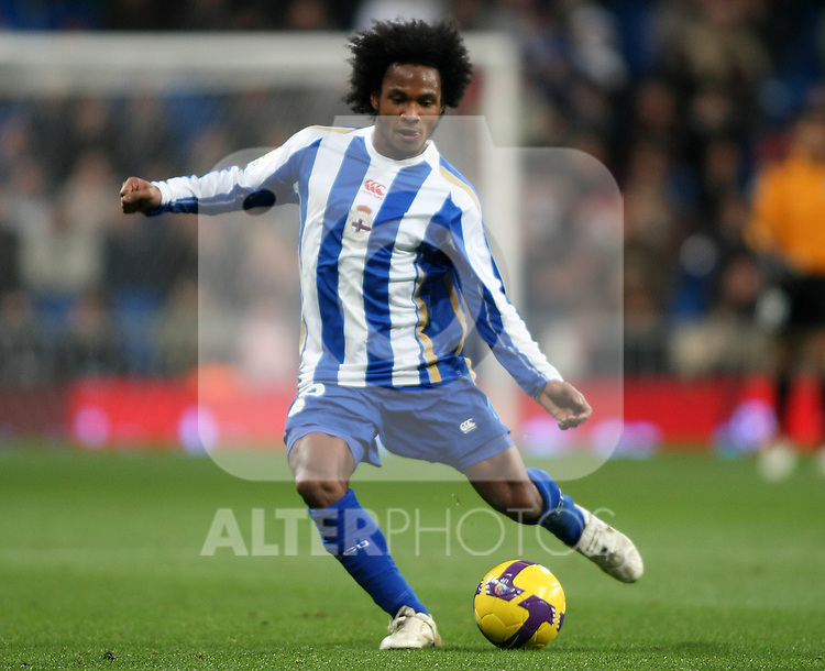 Deportivo de la Coruna's Julian De Guzman during La Liga match.January 25 2009. (ALTERPHOTOS/Acero).