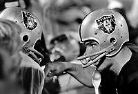 Oakland Raider quarterback Daryle Lamonica on the sideline..(1973 photo/Ron Riesterer)